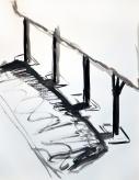 Alkydes sur papier - 50x70cm